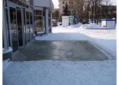 Подогрев открытых площадей
