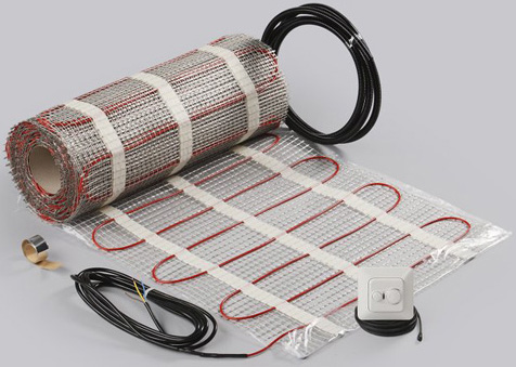 Сетка из греющего кабеля StepMat